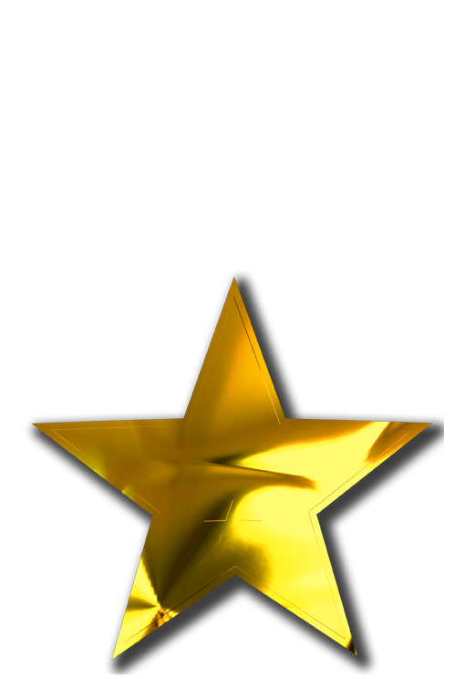 Gold Star Award Template Images Free Download Gold Star Award